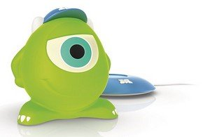 Buy Philips Disney Friend Mike Portable Led Table Lamp