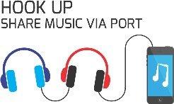 Amkette Tango FDD737BL - Share your music