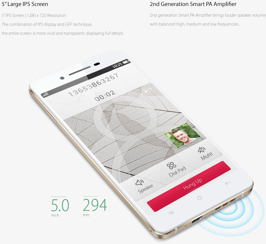Oppo R1 R829t White Electronics Lg K10 Power 4g Lte 55ampquot 2 16gb 13 5mp Captivating Display