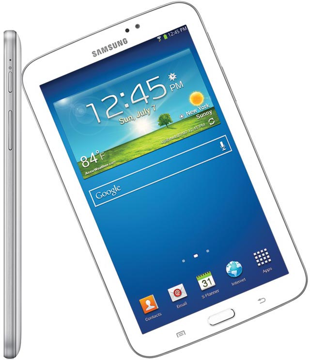 samsung galaxy tab 3 sm t211 tablet 7 inch 8gb wifi 3g voice calling white. Black Bedroom Furniture Sets. Home Design Ideas