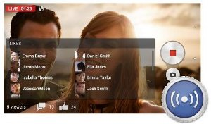 Pre-installed Sony camera apps