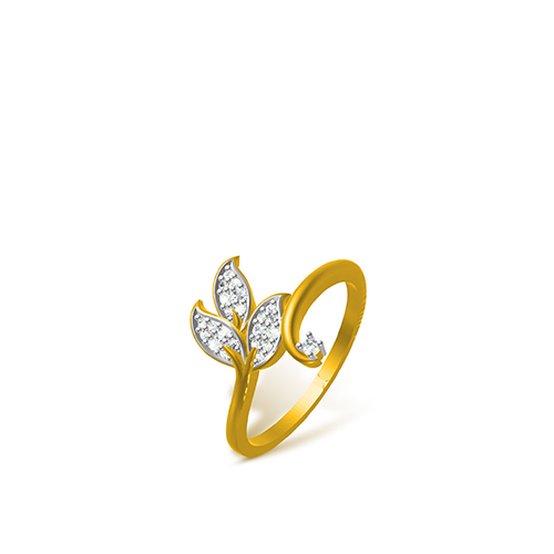 Buy Gold Silver Swarovski Rings Online At Low Prices In
