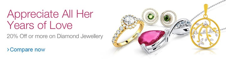 Diamond jewellery on discount