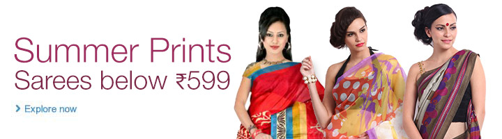 Summer Prints Saree