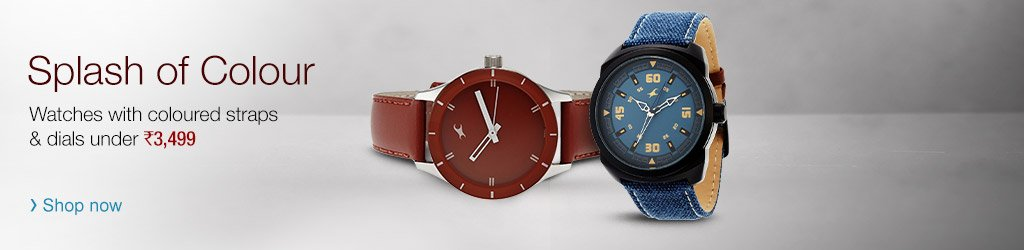 Colouful watches