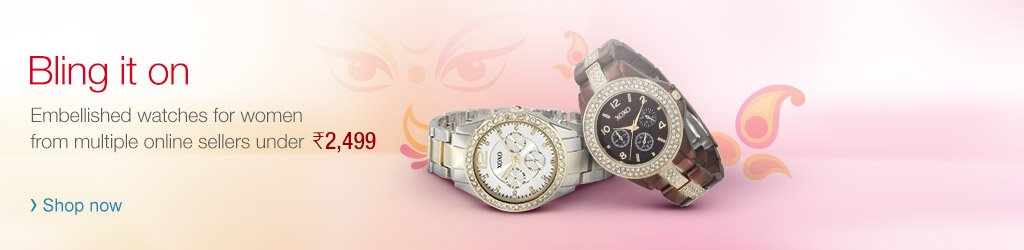 Embellished Watches