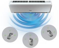 whirlpool 6th sense air conditioner remote control manual
