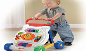 Steady walker supports first steps
