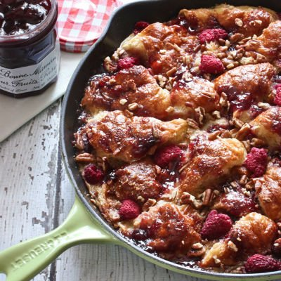 Skillet French Toast & Preserves Casserole