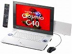東芝 dynabookQosmioG40/95C T7100/17WUX/512Mx2/160G/S-Multi/TV/HomePremium/Office2007 PQG4095CLP