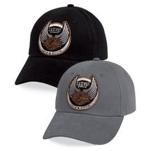 Harley%20Davidson%20Mens%20105th%20Anniversary%20Logo%20Baseball%20Cap%20/%20Hat.%20LIMITED%20EDITION%20for%20105th%20Anniversary.%20100%%20cotton%20baseball%20cap.%20Embroidered%20105th%20Anniversary%20logo.%20Pre-curved%20bill.%20Adjustable%20closure.%20Available%20in%20black%20or%20grey.%20Black%2096959-08VM;%20Grey%2096967-08VM