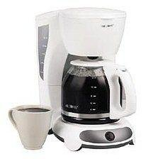 Mr. Coffee 12-Cup Switch Coffee Maker (White)