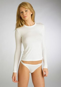 Calvin Klein Modal Long Sleeve Top T-shirt
