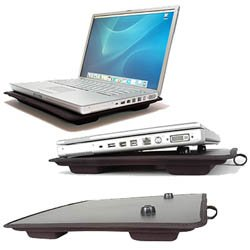 Lapinator Plus - Lap Desk Extra Wide - (Black) - Extra Wide