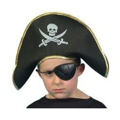 Pirate Captain Hat For children - One size fit