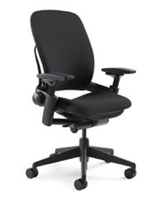 Leap Chair - Fully Featured - Black 