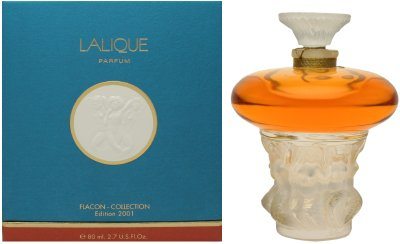 Lalique Les Sirenes Parfum Flacon Collection 2001 Edition 2.7 oz Parfum Classic Flacon