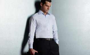 Myhabit:Valentino 华伦天奴 男士正装衬衫 49美元