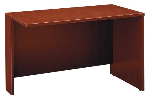 Bush Furniture Series C Mahogany Return Bridge 48-Inch