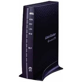【クリックで詳細表示】NTT東日本 NTT東日本 Web Caster 6400M 47Mbpsモデム内蔵ADSLルーター Web Caster 6400M NTT EAST