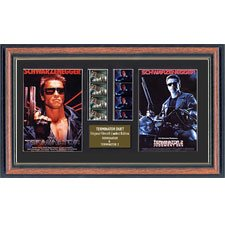 "Actual Film Cell From ""Terminator 1 & 2 Duo"" In A Quality Frame"