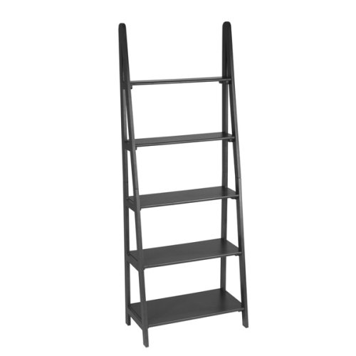 Madison Ladder Bookshelf - Antique Black 