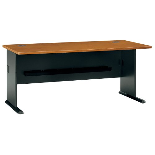 Bush Furniture Series A Natural Cherry 72-Inch Desk