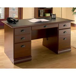 South Shore Executive Office Desk - Vintage Cherry - 7368718 - (Classic Cherry)
