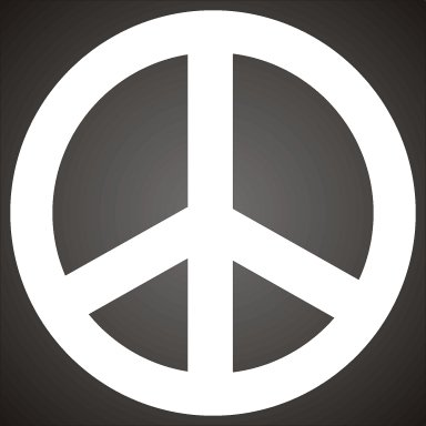 Peace Symbol gift image 1 - search ID bgrn938