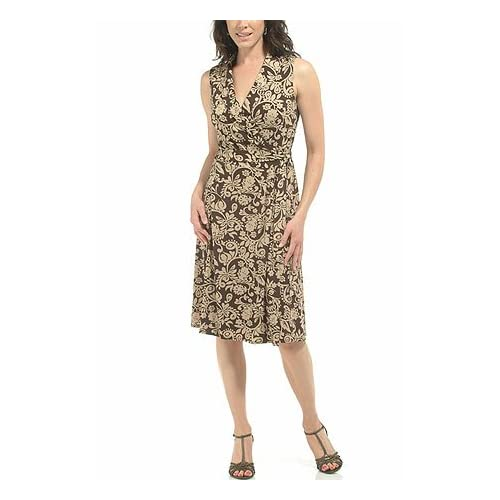 Havana nights print knit dress
