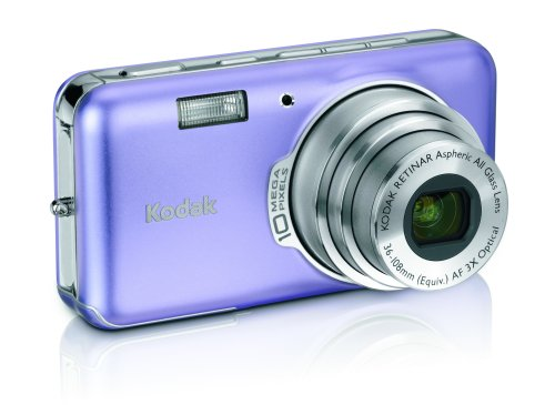 Kodak EasyShare V1003 10MP Digital Camera with 3x Optical Zoom (Mystic Purple)