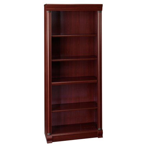 Bush Furniture Birmingham Executive Bookcase, Harvest Cherry