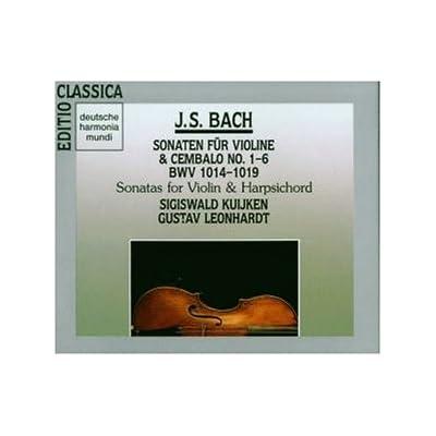 Bach - Sonates pour violon et clavecin BWV 1014-1019 415AERV2KHL._SS400_