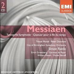 Messiaen Olivier - Quatuor pour la fin du temps 417B7GAB4NL._AA240_