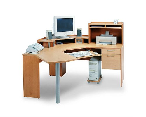 Maple and Honey Complete Workstation