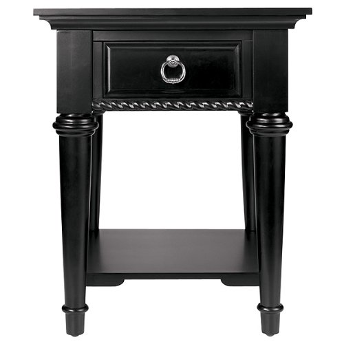Georgetown Black End Table 