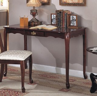 NEW QUEEN ANNE WRITING DESK IN CHERRY FINISH