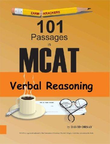 Examkrackers 101 Passages in MCAT Verbal Reasoning (Examkrackers)
