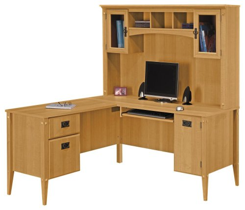 Mission Pointe Home Office Furniture Package 1 - Bush Office Furniture - OFFPKG-25