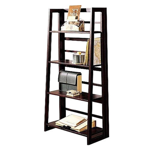 Dolce Dark Walnut Folding Bookcase