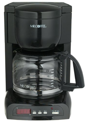 Mr. Coffee MPX23 12-Cup Programmable Coffeemaker, Black