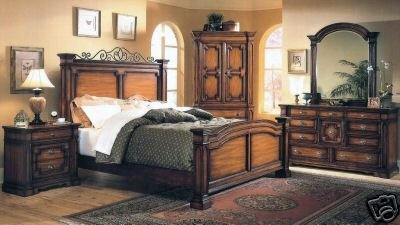 Goldbrush Bedroom Set
