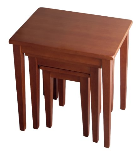 Winsome Wood Nesting Table, Walnut