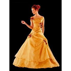 Linda's Off Shoulder Prom Dress Bridesmaid Dress Ball Gown