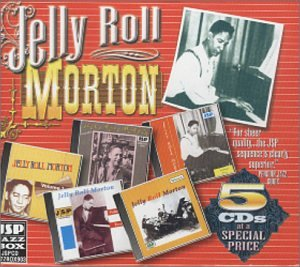 Jelly Roll Morton 5CD Boxed Set