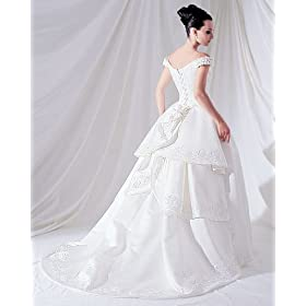 Couture Plus Size Wedding Gown White