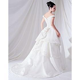 Couture Plus Size Wedding Gown White