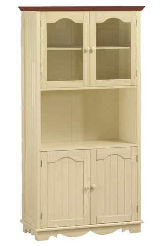 French Country Cupboard 4 Door Maple