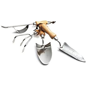 Amazon - Strathwood 4-Piece Stainless Steel Garden Tool Set - $8.84 shipped