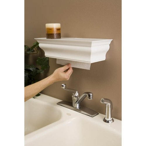 Healthy Shelf Towel Dispenser - White - (White)